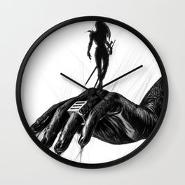 Ghostline - Bring Out The Warrior Wall Clock