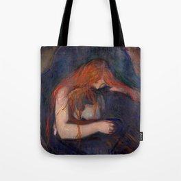 "Edvard Munch ""Vampire"", 1895 Tote Bag"