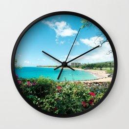 Kāʻanapali Beach Maui Hawaii Wall Clock