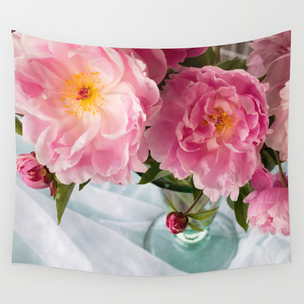 Vibrant Bouquet Wall Tapestry by Nancyjcreates TPS7140216