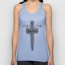 Sturm Gothic Cross Logo Unisex Tank Top