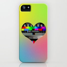 I Love you (no Signal) iPhone Case