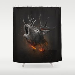 XTINCT x Elk Shower Curtain