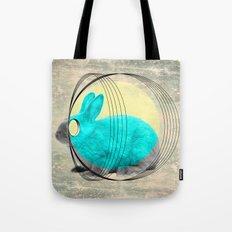 hypnotic rabbit Tote Bag