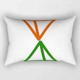 Timelapse Rectangular Pillow