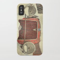 Ford in Winter Slim Case iPhone X
