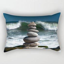 Parting the Waves Rectangular Pillow