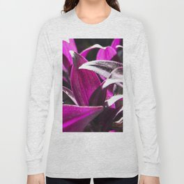 purple leaves Long Sleeve T-shirt