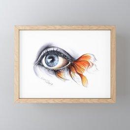 All I See is a Sea Framed Mini Art Print