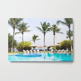 This is Africa, Abidjan To Be Exact!! Metal Print