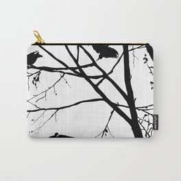 Vintage birds Carry-All Pouch