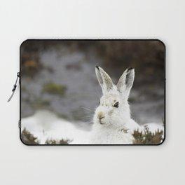 white mountain hare Laptop Sleeve