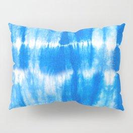 Tie Dye in Blue Pillow Sham