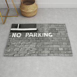 No parking Rug