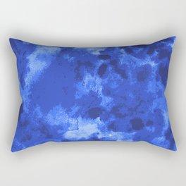 Blue Void Rectangular Pillow