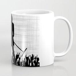 Girl With Microphone Coffee Mug