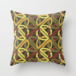 earth protractor snakes Throw Pillow