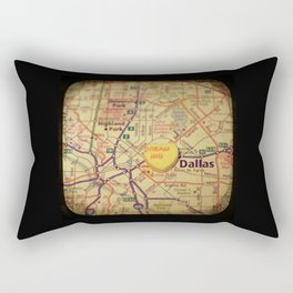 Dream Big Dallas Rectangular Pillow