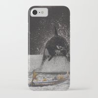 orca iPhone & iPod Cases featuring Orca by Lerson