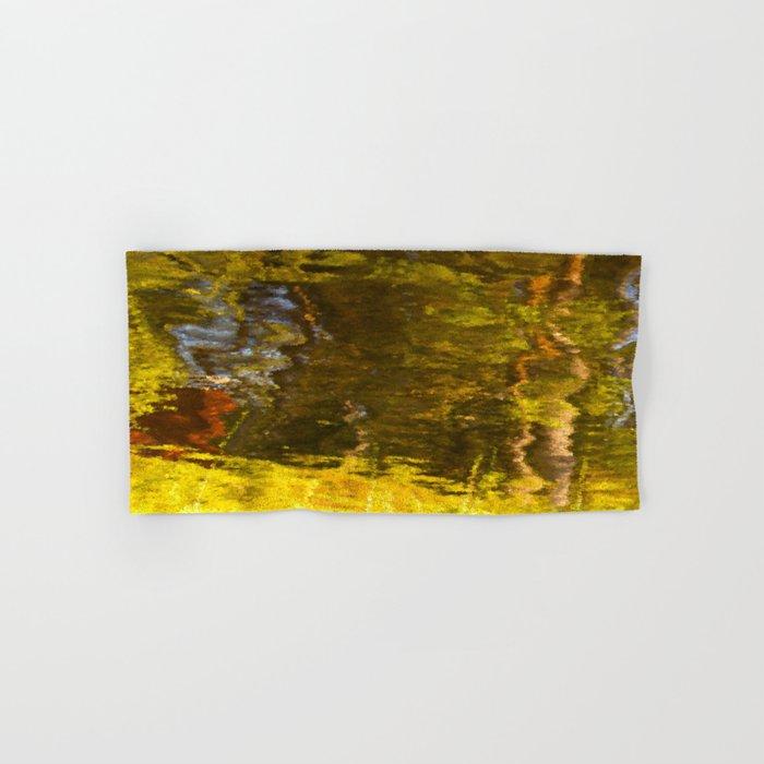 Abstract reflection I #decor #society6 Hand & Bath Towel