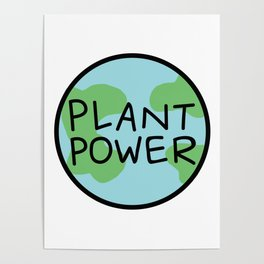 Plant Power Poster