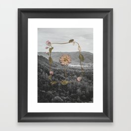 Obi Obi Valley Framed Art Print