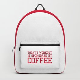 Today's Workout Gym Quote Backpack