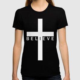 Believe Cross (Purple) T-shirt