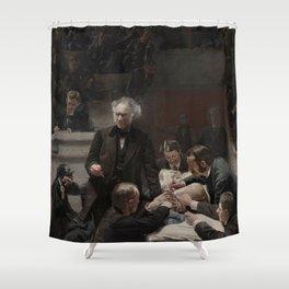 Thomas Eakins - Portrait of Dr Samuel D Gross (The Gross Clinic) Shower Curtain