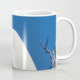 Male Great White Egret Coffee Mug