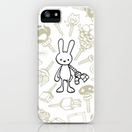 minima - beta bunny / gear iPhone Case