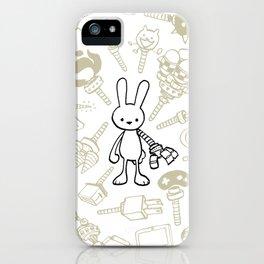 minima - beta bunny / gear iPhone Case