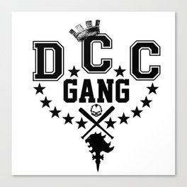 DCC Gang Logo Canvas Print