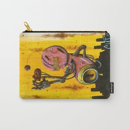 A pink robot for Akira Carry-All Pouch
