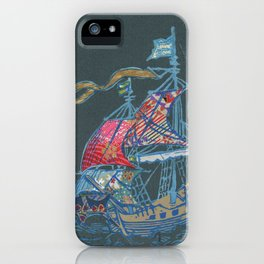 Sailing Ship VIII iPhone Case