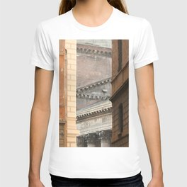 Street View of the Pantheon of Rome T-shirt