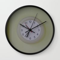 watch Wall Clocks featuring Watch by Monika Zaldo