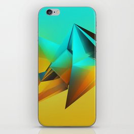 Refraction Crystal iPhone Skin