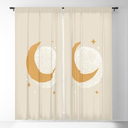 Moon Sparkle - Celestial Blackout Curtain