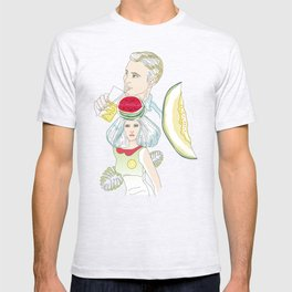 melon, watermelon and lemon T-shirt