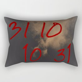 When Ghouls Are Near - 31 10 10 31 Rectangular Pillow