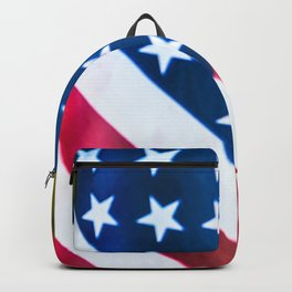 Red, White, & Blue Backpack