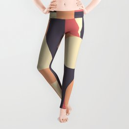 Abstract Pattern Background Leggings