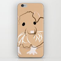 rat iPhone & iPod Skins featuring Rat by Jessica Slater Design & Illustration