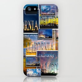California POSTCARD HD by JC LOGAN 4 Simply Blessed iPhone Case