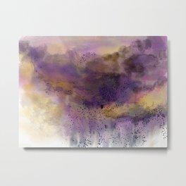 Purple Storm Metal Print