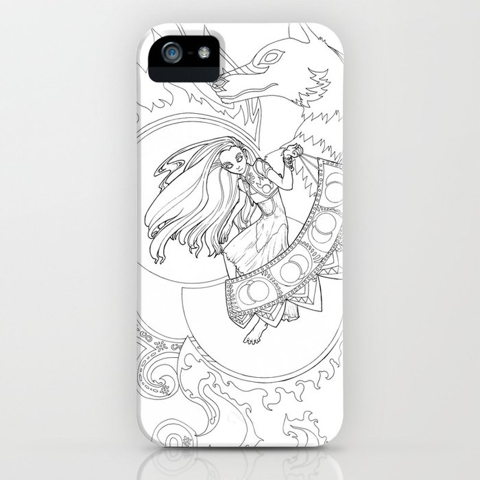 Creation of Saphelites iPhone Case