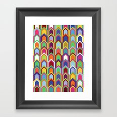 Upward Series: Soirée Framed Art Print