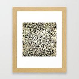 pattern ink crystal Framed Art Print