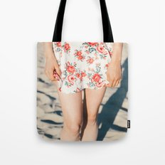 Flower Dress Tote Bag